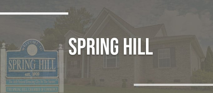 Spring Hill tn real estate agencies homes for sale